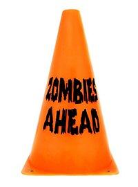 Décoration d'Halloween Cône Zombies ahead