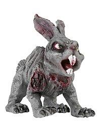 Décoration d'Halloween Lapin zombie