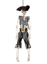 Décoration d'Halloween Pirate zombie