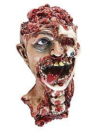 Décoration d'Halloween Tête de zombie