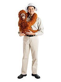 Déguisement animation bébé orang outan