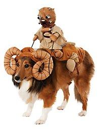 Déguisement Bantha et homme des sables Star Wars pour chien