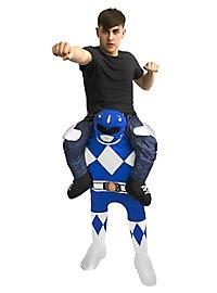 Déguisement Carry Me Power Ranger bleu