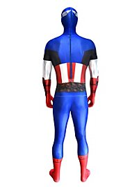 Déguisement combinaison Captain America Digital Morphsuit