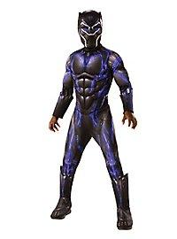 Déguisement combinaison de combat Black Panther pour enfant