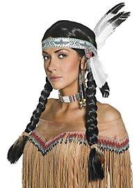Déguisement d'amérindienne classique