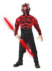 Déguisement Dark Maul musclé Star Wars pour enfant