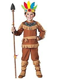 Déguisement de chef de tribu indienne pour enfant