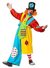 Déguisement de clown coloré