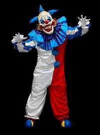 Déguisement de clown souriant avec masque