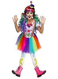 Déguisement de clown taches de peinture pour enfant