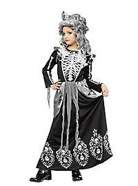 Déguisement de comtesse fantôme pour enfant