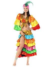 Déguisement de danseuse de samba
