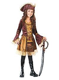 Déguisement de fille de pirate pour enfant