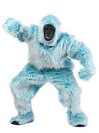 Déguisement de gorille bleu clair