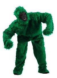 Déguisement de gorille vert