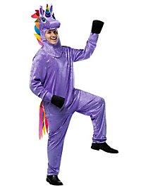 Déguisement de licorne violette