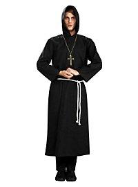 Déguisement de moine noir