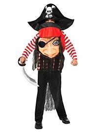 Déguisement de monstre pirate pour enfant