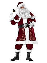 Déguisement de Père Noël à l'ancienne