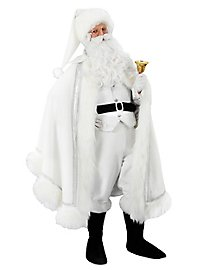 Déguisement de Père Noël blanc