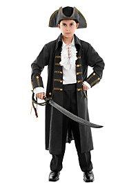 Déguisement de pirate noir pour enfant