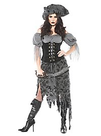 Déguisement de pirate zombie pour femme