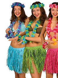 Déguisement de plage Hawaï vert
