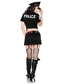 Déguisement de policière gyrophare