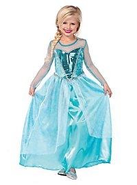 Déguisement de princesse des neiges pour enfant