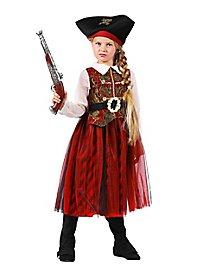 Déguisement de princesse des pirates pour enfant