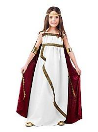 Déguisement de princesse romaine pour enfant