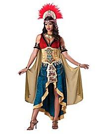 Déguisement de reine des dieux maya