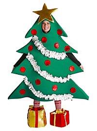 Déguisement de sapin de Noël