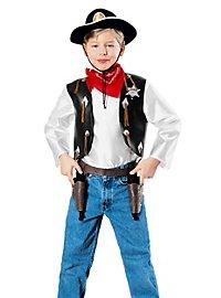 Déguisement de shérif de Western pour enfant