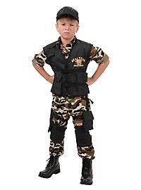 Déguisement de soldat d'unité spéciale SEAL pour enfant