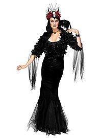 Déguisement de sorcière noir corbeau