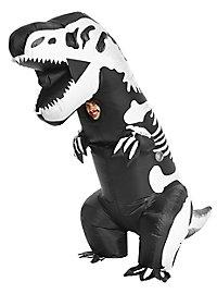 Déguisement de squelette de dinosaure géant gonflable