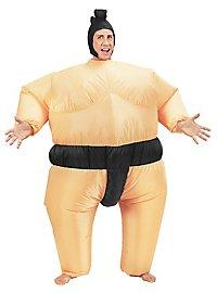 Déguisement de sumo gonflable
