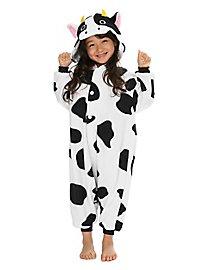 Déguisement de vache Kigurumi pour enfant