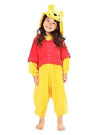 Déguisement de Winnie l'ourson Kigurumi pour enfant