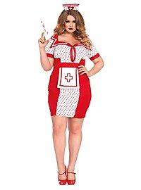 Déguisement d'infirmière pin up sexy XXL