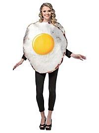 Déguisement d'œuf sur le plat