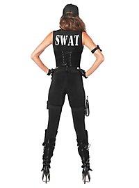 Déguisement d'officière du SWAT sexy