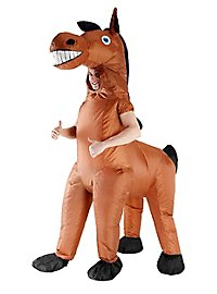 Déguisement gonflable de cheval géant