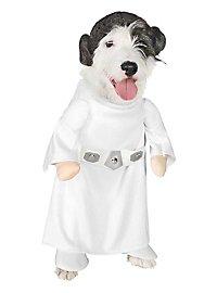 Déguisement princesse Leia Star Wars pour chien