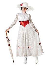 Déguisement robe à fleurs Mary Poppins