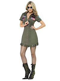Déguisement robe uniforme Top Gun sexy