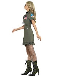 Déguisement robe uniforme Top Gun sexy