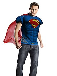 Déguisement t-shirt torse musclé Man of Steel
